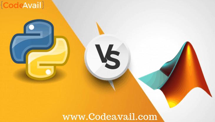 Python Vs Matlab programming comparison – CodeAvail