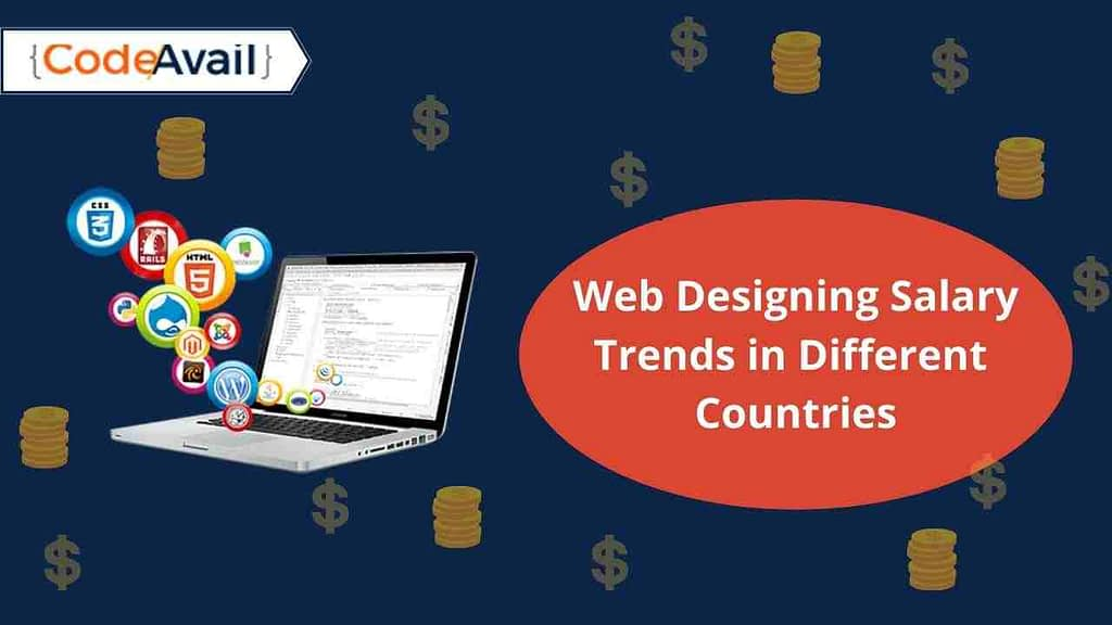 web designing salary