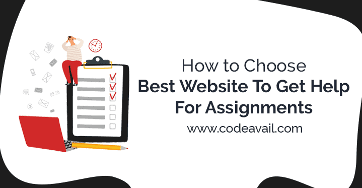 help for assignments
