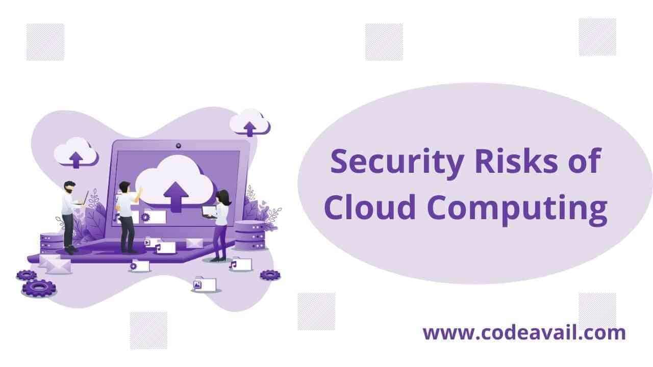 what are the security risks of cloud computing