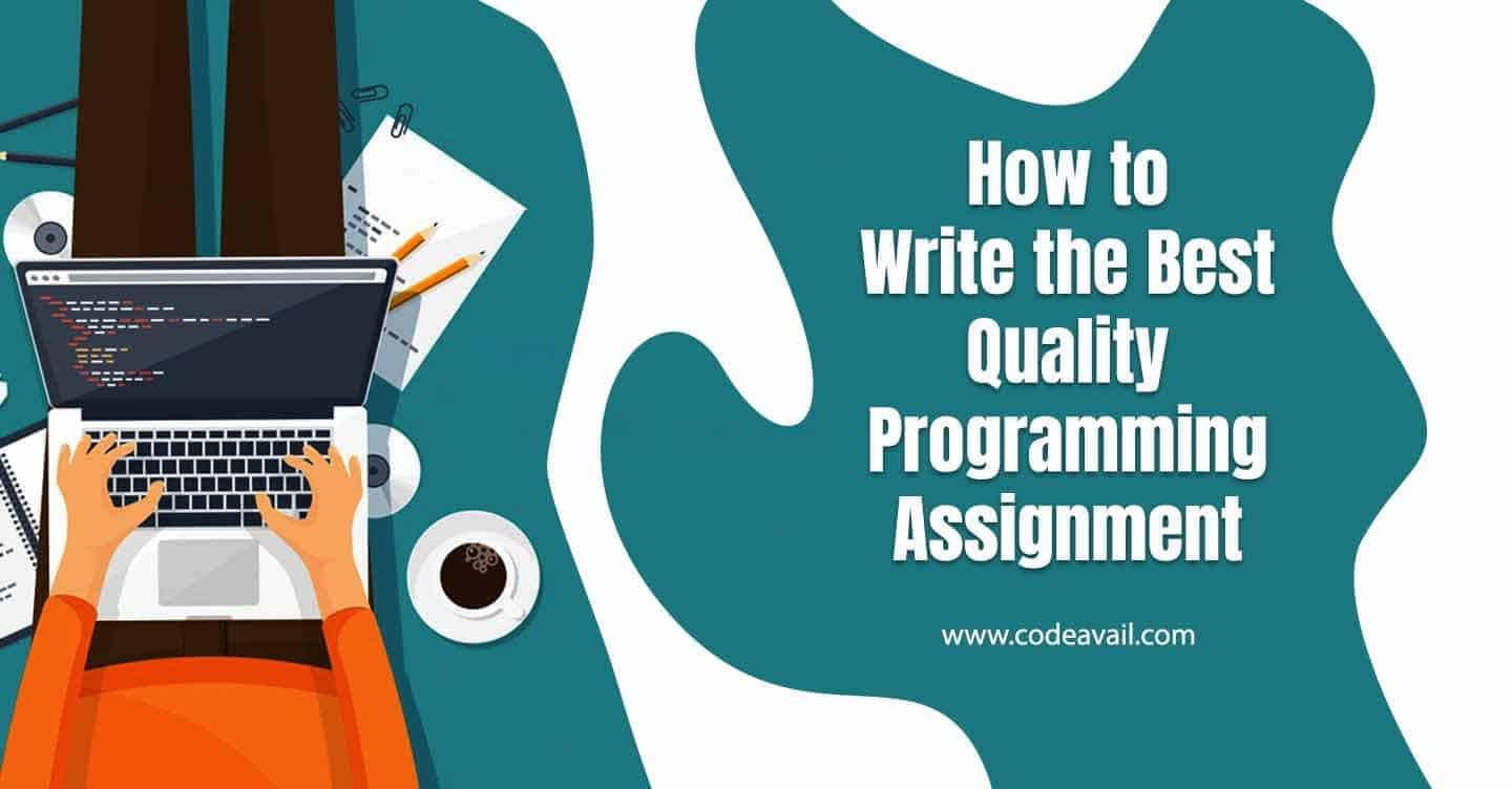 How to write the best quality programming assignment