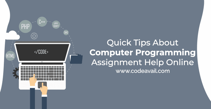 Quick Tips About Computer Programming Assignment Help Online