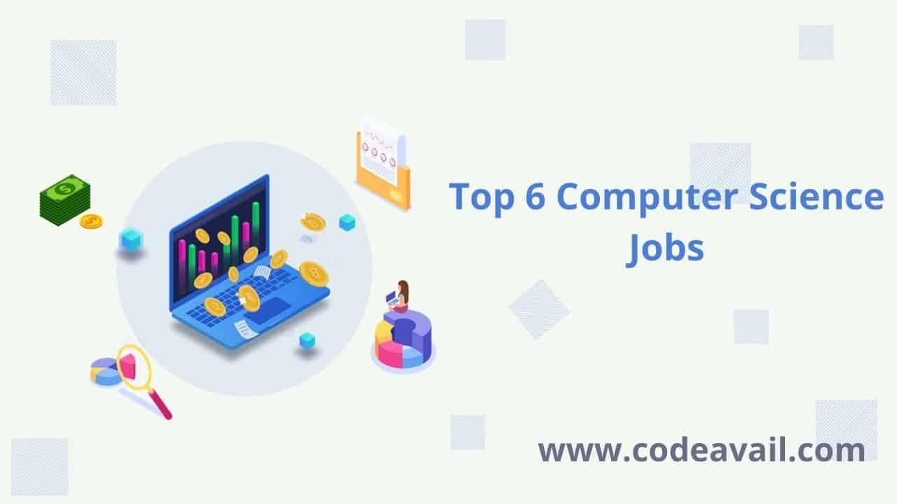 top computer science jobs