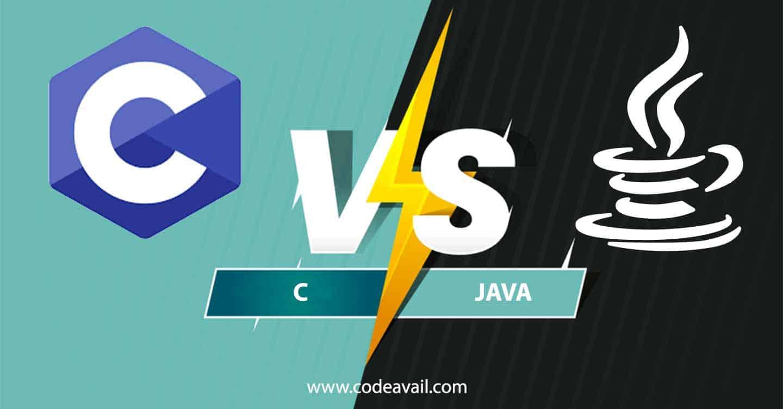 C vs Java - codeavail