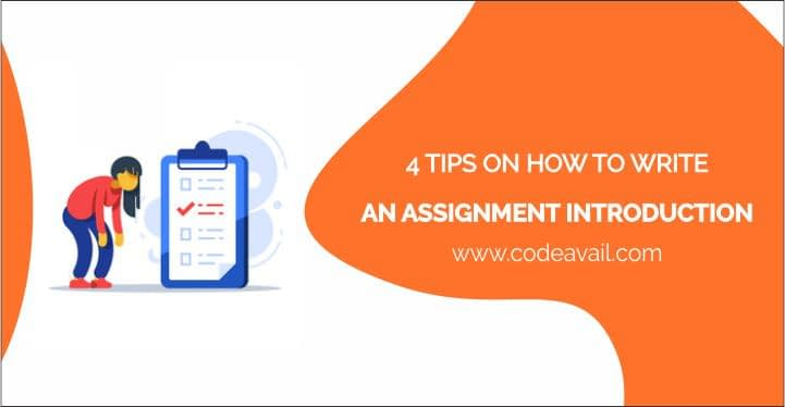 4 Tips on How to Write an Assignment Introduction