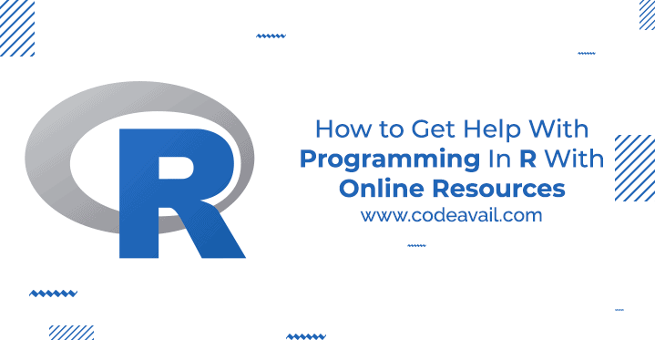How to Get Help With Programming in R With Online Resources