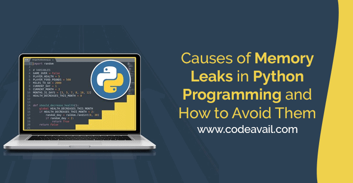 Causes of Memory Leaks in Python Programming and How to Avoid Them